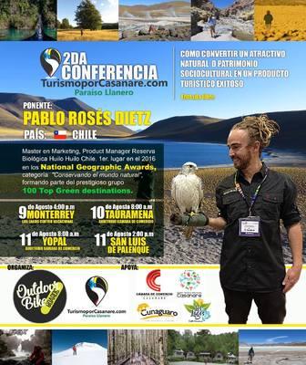 Segunda Conferencia Turismo por casanare