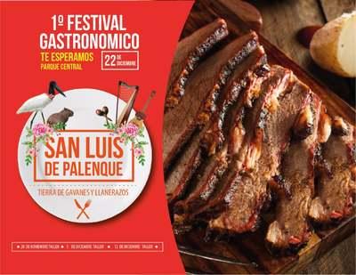 1er Festival Gastronómico en San Luis de Palenque