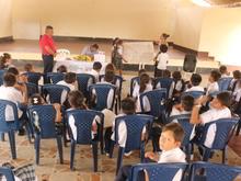Niños presentan ideas