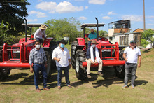 Recibimiento tractoresv