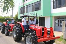 Recibimiento  tractores adquiridos mendiante contrato No. 0206 de 2020